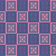 Blue, pink and purple abstract squares — Stock Photo
