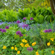 Pacific northwest spring garden — Stock Photo #36953825
