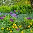 Stock Photo: Pacific northwest spring garden