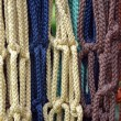Colorful macrame — Stock Photo