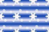 Snowflake seamless pattern — Stock Photo