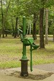 Hand water pump — Stock Photo