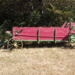 Vintage manure spreader — Stock Photo