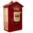Fire alarm box — Stock Photo