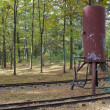 Railroad water tank — Stock Photo #35562243