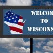 Wisconsin sign — Stock Photo #36141611