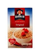 Quacker płatki owsiane — Zdjęcie stockowe