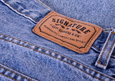 Blue jeans — Stock Photo