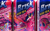 Brisk iced tea — Stock Photo