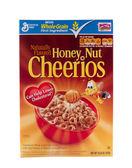 Miód nakrętka cheerios — Zdjęcie stockowe