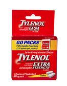 Tylenol go packs — Stock Photo