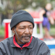 African american homeless man — Stock Photo #33935497