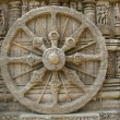 Stone Wheel at Sun Temple — Stock Photo