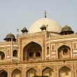 Closer view of Humayun&#039;s Tomb - Stock Photo