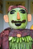 Vegetable Man — Stock Photo