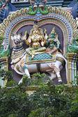 Shiva, Parvathi on Nandi — ストック写真