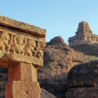 Rocks and Temples at Badami — Stock Photo