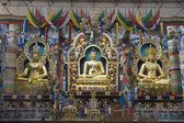 Trio at Golden Temple — Stock Photo