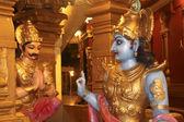 Lord Krishna Sermon — Stock Photo