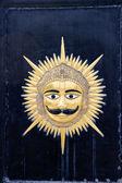 Mask of Mewad Kingdom — Stock Photo