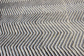 Anti-skid, Zigzag Concrete Path — Stockfoto