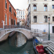 Summer in Venice, Grand Canal, Italy — Stock Photo