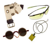 Fashion accessories fashion with clipping path — Stock Photo
