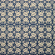 Tablecloth of floral pattern - Stock Photo