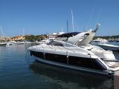 Marina with yachts. Sardinia. — Stock Photo