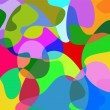 Vector abstract background, dots — Image vectorielle