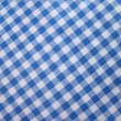 Checkered tablecloth - folk pattern — Photo