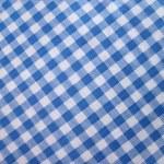 Checkered tablecloth - folk pattern — Stock Photo