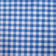 Checkered tablecloth - folk pattern — Stock Photo
