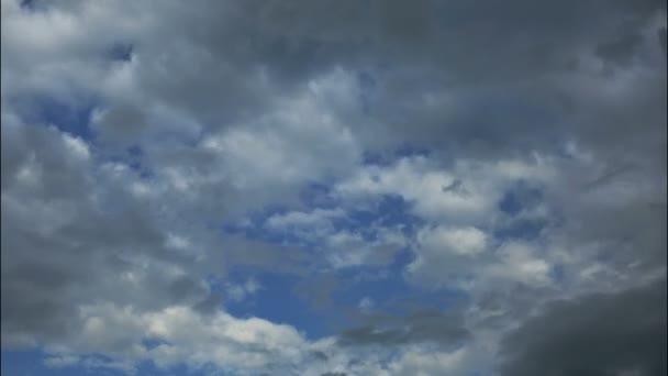 El clima es aclaración - hd tiempo lapso nubes y cielo — Vídeo de stock