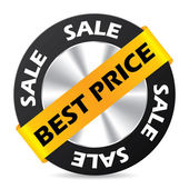 Best price badge design — Stock Vector