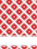 Textura de fondo rojo con cuatro puntos — Vector de stock