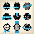 Stock Vector: Hipster retro badge designs