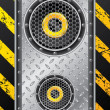 Royalty-Free Stock Vector Image: Underground speaker design