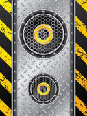 Underground speaker design — Stockvektor