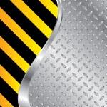 Metallic plate background — Stock Vector #27332013