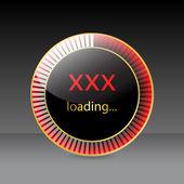 Preloader design for XXX websites — Vetorial Stock