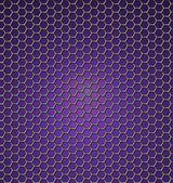 Abstracte paarse achtergrond met zeshoeken — Stockvector
