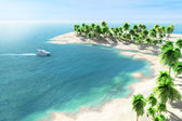 Tropical seaside — Stock Photo
