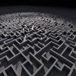 Man in labyrinth — Stock Photo #24012513