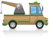 Car tow vector illustration — Stock Vector