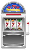 Slot machine vector illustration — Stock Vector