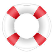 Lifebuoy vector illustration — Stock Vector