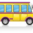 Bus illustration - Stock Photo