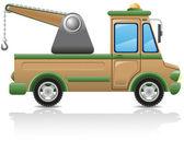 Car tow illustration — Stock Photo