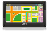 Gps navigator vektor illustration — Stockvektor